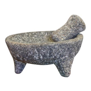 Vintage Stone Mortar and Pestle For Sale
