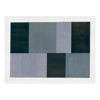 """Tom McGlynn """"Test Pattern 12 (Grey Study)"""", Painting For Sale"""