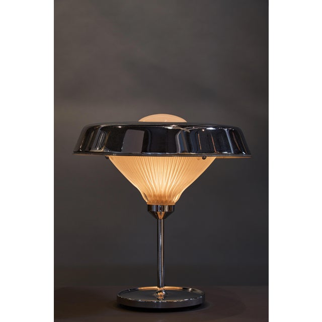 "Mid-Century Modern ""Ro"" Table Lamp Designed by the Architectural Partnership Bbpr for Artemide For Sale - Image 3 of 7"