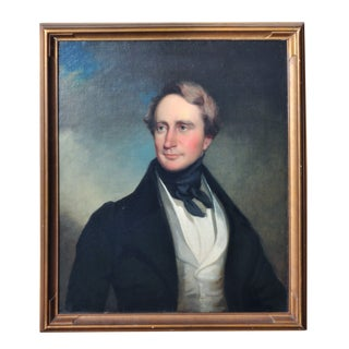Male Framed Portrait For Sale