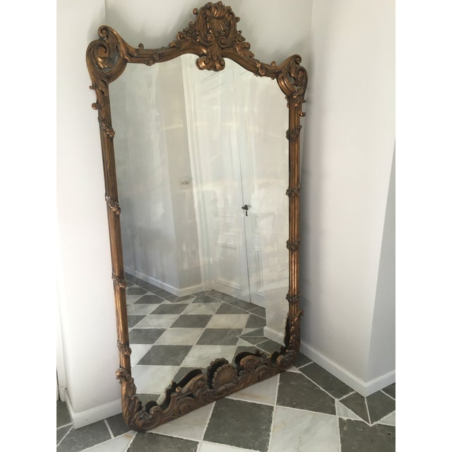 Gold Chinoiserie Full Length Mirror - Image 2 of 5