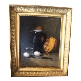 French Still Life 19th Century Painting For Sale