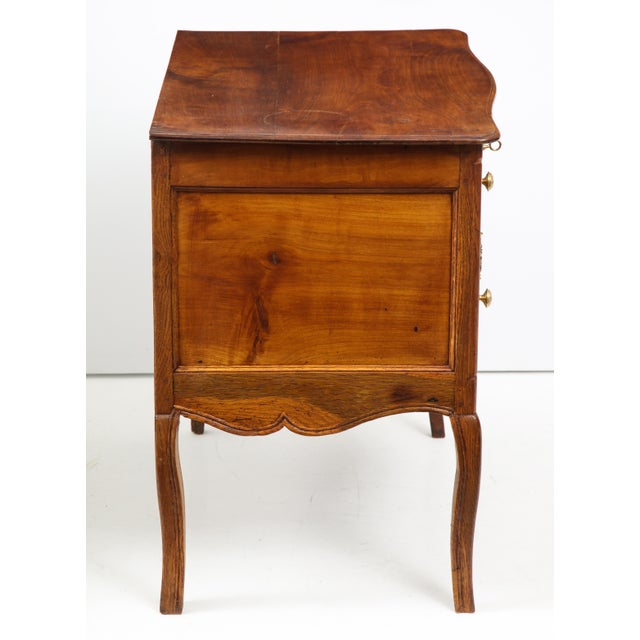 Brown Walnut Commode For Sale - Image 8 of 13