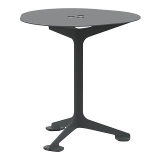 Jackson Cafe Table Triangle in Graphite For Sale