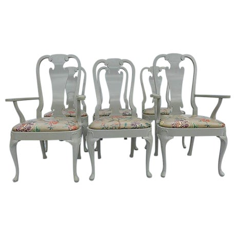 Coastal Living Henredon Dining Chairs - S/6 - Image 1 of 9