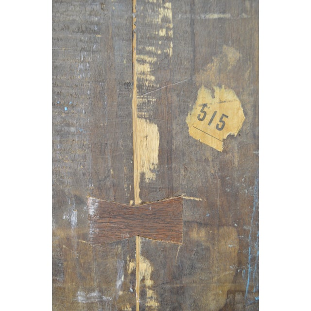 18th Century French Louis XV Period Hand Painted Long Case Clock For Sale - Image 10 of 13