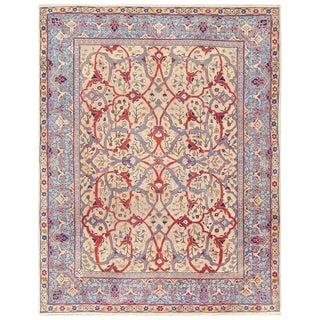 Antique Persian Tabriz Rug - 7′10″ × 10′2″ For Sale