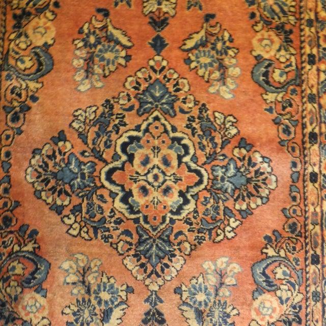 """Leon Banilivi Antique Persian Sarouk 6'6"""" X 2'7"""" - Image 2 of 4"""