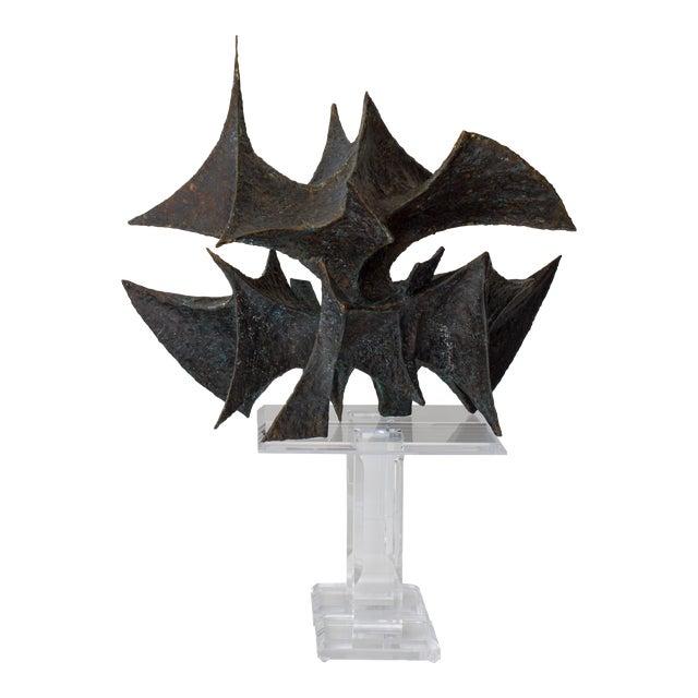 Bj Las Ponas Bronze Sculpture For Sale