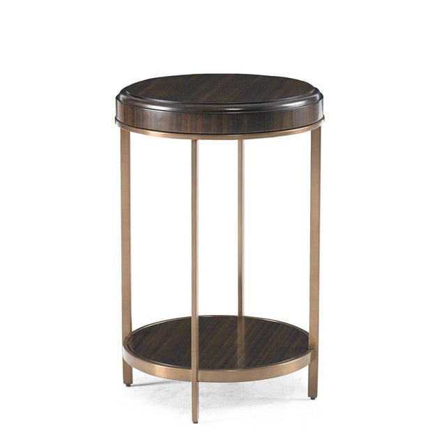 Kenneth Ludwig Chicago Capetown Round Accent Table from Kenneth Ludwig Chicago For Sale - Image 4 of 4