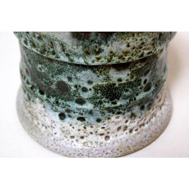 Raymor Mid-Century Italian Lava Glaze Vase - Image 5 of 8
