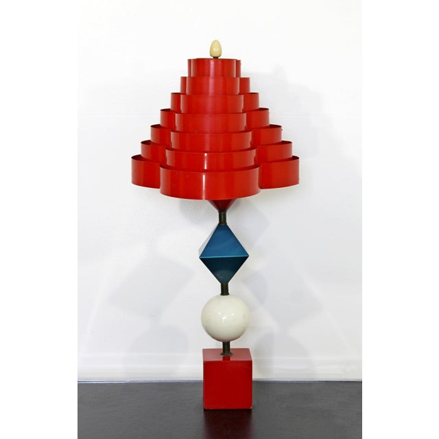 1960s Mid Century Modern Gerald Thurston Lightolier Lamp For Sale In Detroit - Image 6 of 12