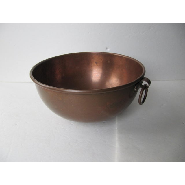 Vintage Copper Mixing Bowl | Chairish