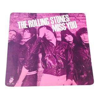 Vintage Rolling Stones Vinyl Record Art