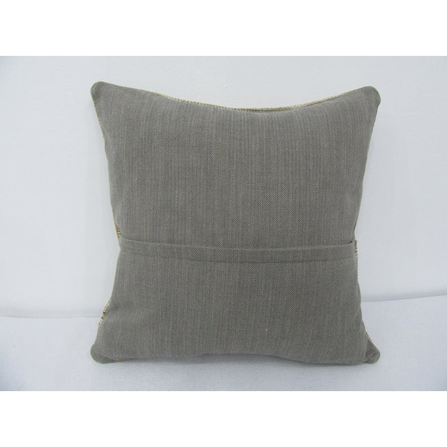 Turkish Vintage Turkish Handmade Decorative Pillow Cover For Sale - Image 3 of 4
