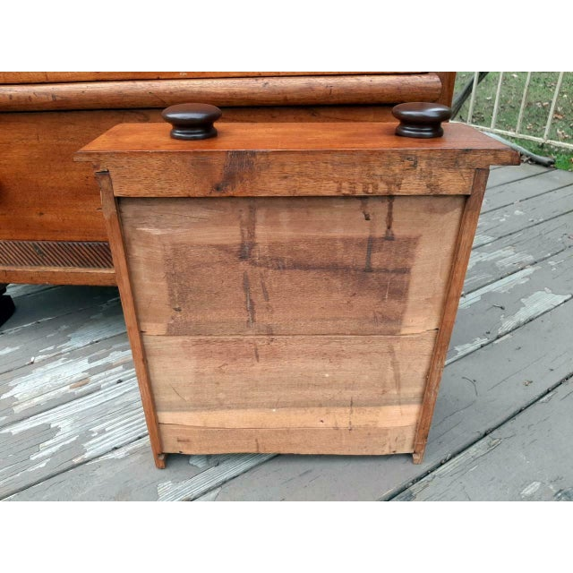 Late 1700's Early 1800's Antique Primitive Farmhouse Solid Chestnut Chest of 5 Drawers For Sale - Image 11 of 13