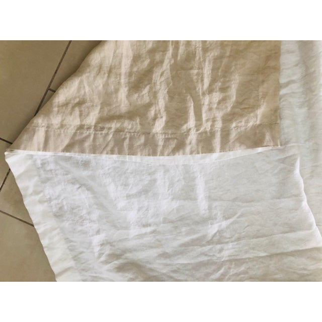 Swedish Gustavian Bed Canopy With Linen Drapery For Sale - Image 12 of 13