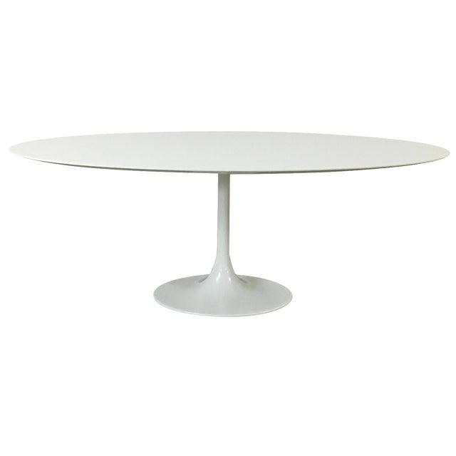 Saarinen-Style Tulip Dining Table by Domitalia - Image 1 of 7