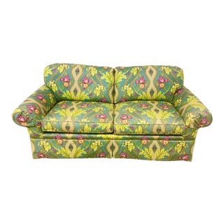 21st Century Clarence House Floral Print Down Sofa For Sale