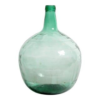 Antique French Hand-Blown Olive Jar For Sale