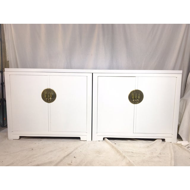 Michael Taylor for Baker White Ming Style Credenza - Image 3 of 6