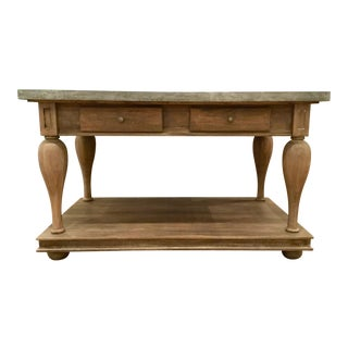 Currey & Co. Sullivans Work Table For Sale