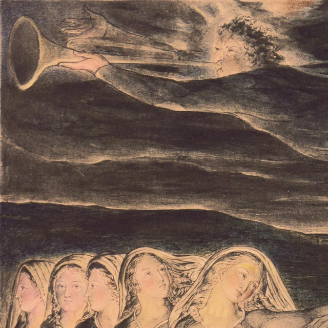 'The Parable of the Wise and Foolish Virgins' by William Blake, Proto-Symbolist Lithograph For Sale In Monterey, CA - Image 6 of 12