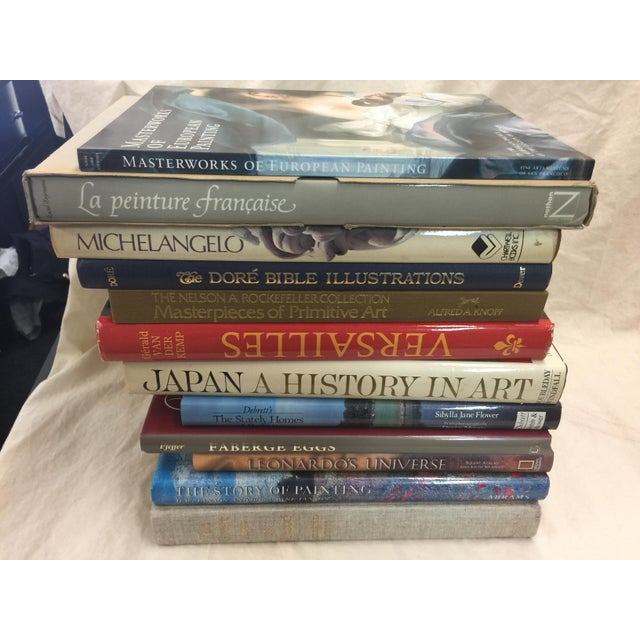 "Lot of 12 large coffee table books. All in excellent condition. These books measure 12'X13""x9"". Great collection for you..."
