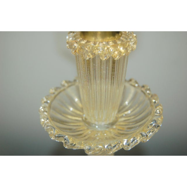 1940s Vintage Murano Glass Table Lamp Barovier Fruit For Sale - Image 5 of 12