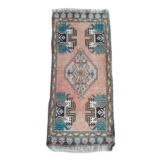 1980s Vintage Rugs- 1′7″ × 3′7″ For Sale