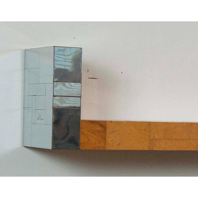 Modern Pair of Paul Evans Cityscape Bookshelves For Sale - Image 3 of 7