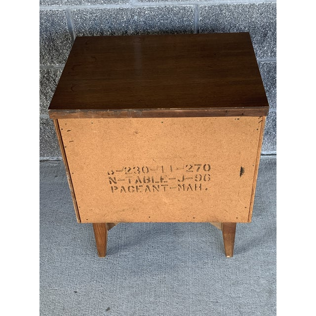 Vintage Mid-Century Modern Nightstand For Sale - Image 9 of 10