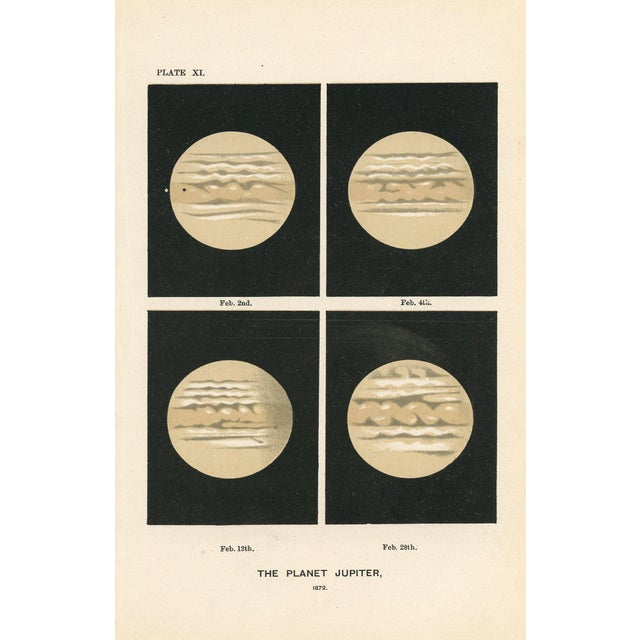 Antique 1880s Astronomy Prints - A Pair - Image 3 of 3
