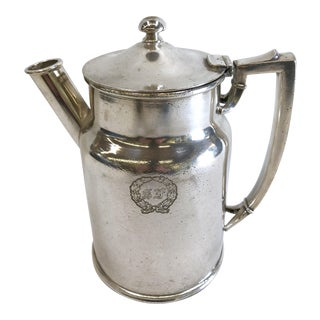 St. Francis Hotel Silver Coffee Pot