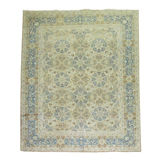 Vintage Persian Pictorial Rug - 8'5'' x 11'6'' For Sale