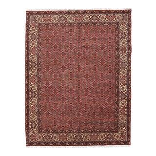 Red Persian Bidjar Rug For Sale
