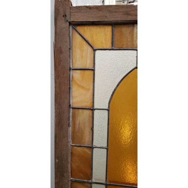 Large Late 19th Century Stained Glass Window Panel C.1880 For Sale - Image 4 of 12