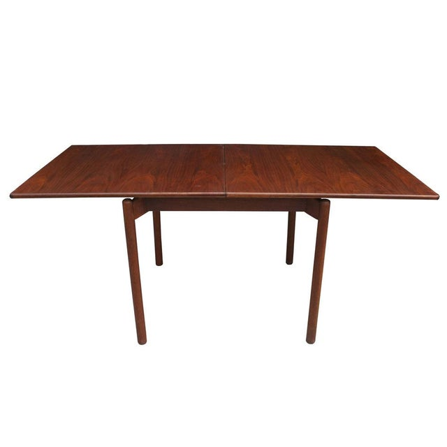 1960s 1960s Vintage Greta Grossman Teak Expandable Dining Table and Chairs - 5 Pieces For Sale - Image 5 of 12