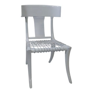 Modern Medellin Mid-Century Style Klismos Dining Chair For Sale