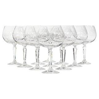 Lenox Glass Goblets - Set of 11 For Sale