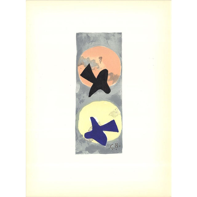 Georges Braque-Untitled-1959 Lithograph - Image 1 of 3