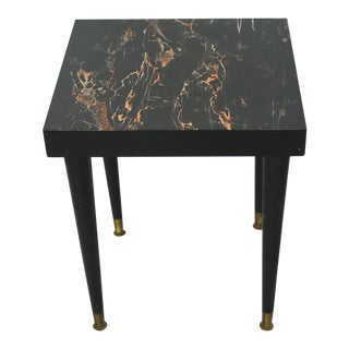 Mid-Century Formica Side Table
