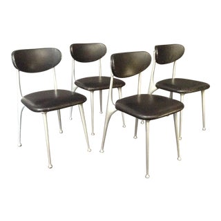 1940s Vintage Shelby Williams Gazelle Chairs- Set of 4 For Sale