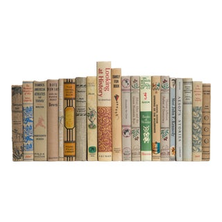 Mid 20th Century Children's Neutral Books - Set of 20 For Sale