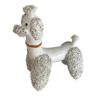 Portugal Pottery Poodle Dog Figurine