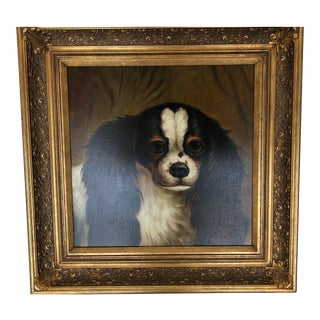 King Charles Spaniel Dog Painting For Sale
