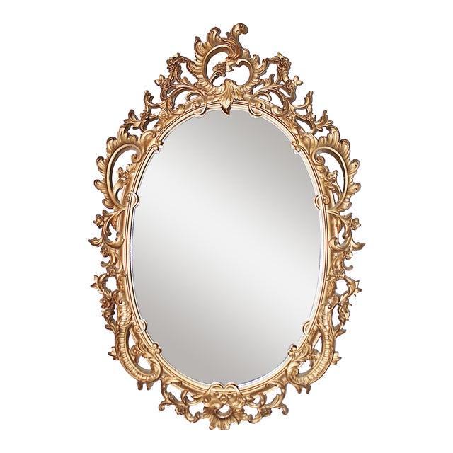 Vintage Rococo-Style Mirror - Image 1 of 6