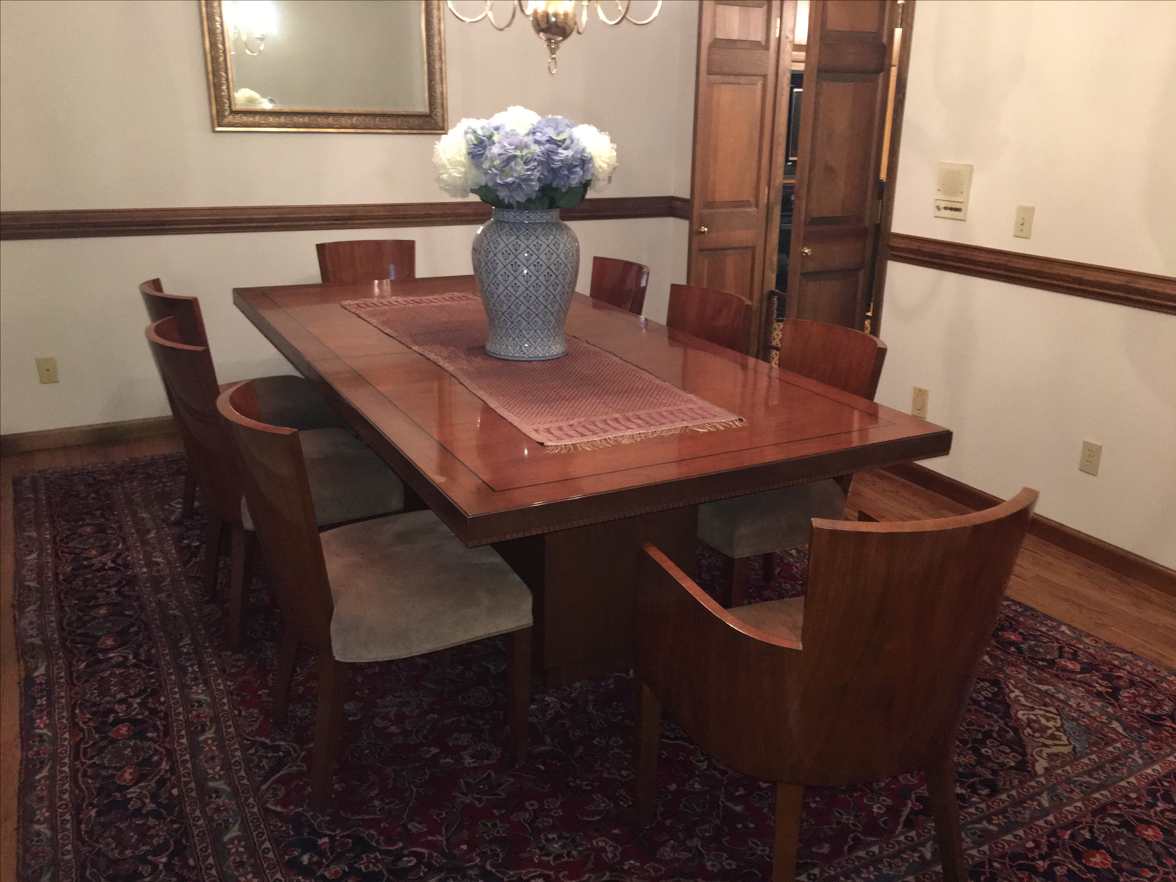 Ralph Lauren Modern Hollywood Dining Table Chairish