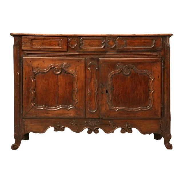Early 18th C. French Louis XV Buffet For Sale