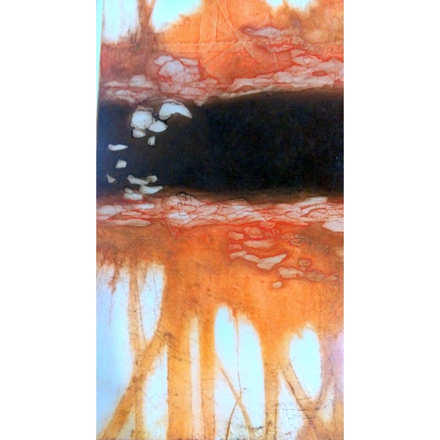 """Ruth Rodman """"Reflection"""" Aquatint Etching For Sale In Los Angeles - Image 6 of 9"""
